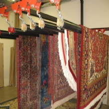 Wool Oriental Rug Cleaning Northern VA drying