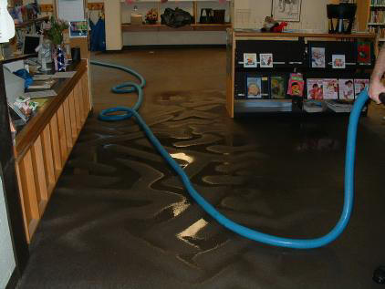 Northern Virginia Flood Water Damage Restoration.